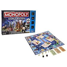 Hasbro Monopoly Here and Now World Edition Game