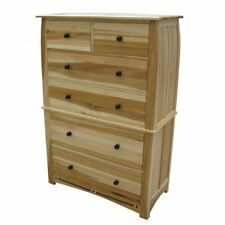 Bowery Hill 6 Drawer Chest in Natural