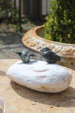 Gartenfiguren & -skulpturen aus Bronze mit Vögel-Wetterfeste