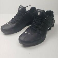 Nike Shox NZ EU Black White 501524-091 Running Shoes Men's Size 12