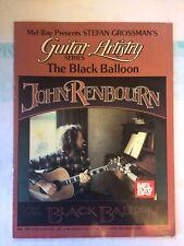 VERY SCARCE , John Renbourn GUITAR BOOK , THE BLACK BALLOON , Guitar Artistry