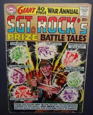 Sgt. Rock's Prize Battle Tales #1 1964 4.0 VG 80pg Giant; One shot BV$66 50%Off