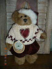 "Boyds Bears Plush (Fall 1998) ~ 8"" Edmund ~ Wintertime Bear Style #9175-10"