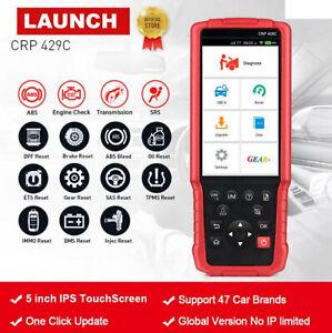 LAUNCH X431 CRP429C OBD2 Scanner ABS SRS Code Reader Automotive Diagnostic Tool