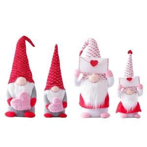 Valentine's Day Tomte Gnome Decorations Swedish Gnome Plush Dolls Handmade