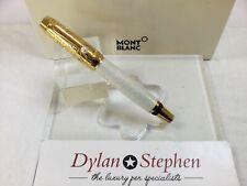 Montblanc Boheme gold lacquer Akoya pearl rollerball pen RARE