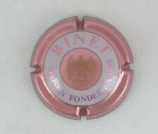 capsule champagne BINET n°19 contour rosé