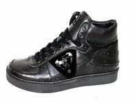 John Galliano Herrenschuhe Schuhe Sneakers Shoe Ankle Boots 1212 schwarz