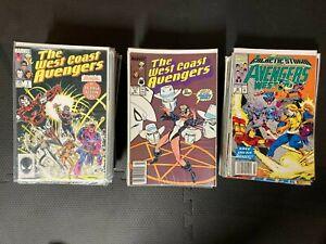 West Coast Avengers Complete Set 1-102 & Annual Excellent Condition