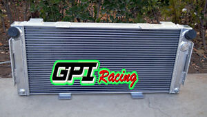 HIGH-PERFORMANCE 50MM ALUMINUM ALLOY RADIATOR FOR FORD GT40 1964-1969 65 66 1967