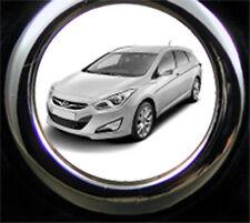 Hyundai i40 CW Schlüsselanhänger i40 CW als Bildgravur inkl. eigener Gravurtext