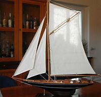 Luxus Segelboot Modell Nr.29 Boot groß Segelyacht Boote Schiff Meer Neu