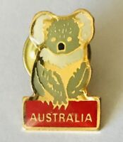 Australia Koala Bear Native Animal Souvenir Pin Badge Rare Vintage (H3)