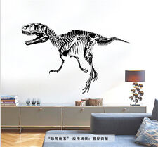 Dinosaur Fossils Animals Home Decor Removable Wall Stickers Decals Decorations