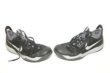 a8081e505b0 Nike 630909-004 Zoom Crusader Men Black Silver Athletic Shoes Size 9.5M Mens