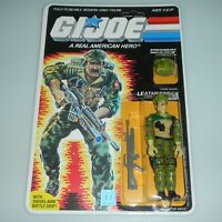 *RECARDED* 1986 GI Joe Leatherneck Figure Complete Sealed *CUSTOM File Card Back