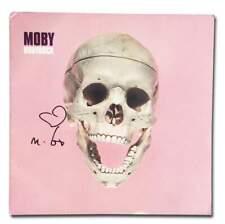Moby authentic signed EDM dj album W/Certificate Autographed (A)