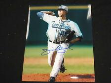 DANIEL BARD Signed UNC Tar Heels 8x10 Photo Autograph North Carolina Baseball A