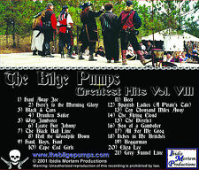 The Bilge Pumps Greatest Hits Vol VIII CD pirate music sea shanties Celtic songs