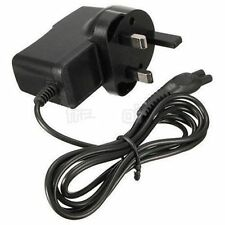 fr philips shaver norelco hq series charger power adapter lead cord uk 3pin S99