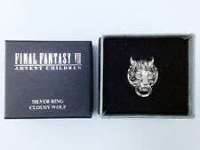 Final Fantasy VII Silver 925 Ring Cloudy Wolf official Square Enix Size 17