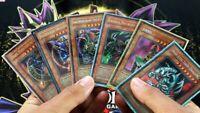Yu-Gi-Oh! 50 Card Lot guaranteed Foil Cards!!! 8 HOLOS per pack !!