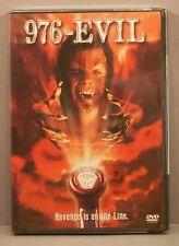 976-Evil (DVD, 2002) BRAND NEW Stephen Geoffreys, Jim Metzler and Maria Rubell