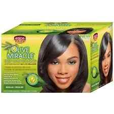 African Pride Olive Conditioning Anti-Breakage No Lye Relaxer, Regular 1 ea