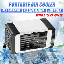 Portable Mini Air Conditioner Fans Portable Personal Led Cooling Fans Humidifie