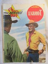 STAR CINE AVENTURES 61 LE GRAND T ANNEE 1961 RANDOLPH SCOTT