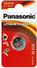 3 pile batterie CR2016 panasonic 3V Litio CR 2016 COMPATIBILE BAT07 BATLI07