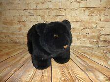 Plush Stuffed Plush Black Bear Footrest by WMG Cabin Northern Woods Decor
