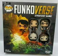 Funko Pop! Funkoverse Harry Potter Strategy Board Game #100 Base Set, NEW SEALED