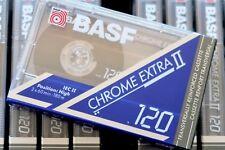 BASF Chrome Extra II 120 High Bias Blank Audio Cassette - 1991