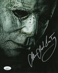 James Jude Courtney Autograph Signed 8x10 Photo - Halloween (JSA COA)