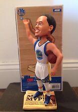 Stephen Curry 2015 NBA MVP Bobblehead, Polyester Jersey, Newspaper Base