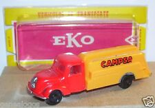 OLD 1960 MICRO EKO HO 1/86 1/87 SPAIN MAGIRUS S 3500 CAMION CITERNE TANKER BOX