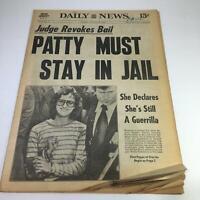 NY Daily News: 9/20/1975 Judge Revokes Bail Patricia Campbell Must Stay In Jail