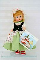 Little Bo Peep 8'' Madame Alexander Doll Kaiser Stand Included Hang Tag Restrung