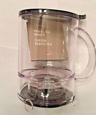 16 Oz Teavana Perfectea Maker - Black ~ BPA-Free Tea Infuser