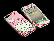 for Apple iPhone 5 5S SE Lovely Hello Kitty Front & Back Case cover defender