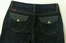Womens Jordache Premium Bootcut Dark Jeans Sz 6  Classic Rise