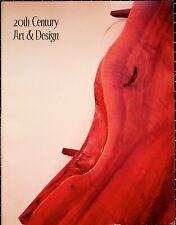 Treadway/Toomey 20th Century Art & Design, Auction Catalog, December 5th, 2004