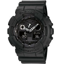 Casio G-Shock Analogue/Digital Mens Black XL-Series Watch GA-100-1A1 GA-100-1A1D