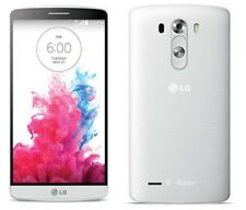 LG G3 D851 32GB WHITE T-MOBILE UNLOCKED GSM 4G LTE 13MP SMARTPHONE NO CONTRACT
