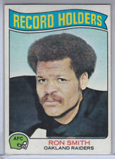 """1975 Topps Card #356 Ron Smith Raiders Record Holders      """""""