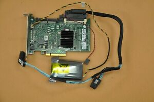 Dell R310 R410 1U Server PERC 6/i RAID Card w/ Cable and battery 0T774H T774H