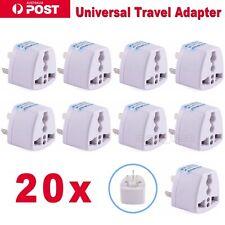 20x UK European US Universal to AU Australia Power Plug Travel Adaptor Converter