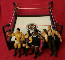 WWE . COM Raw Smack Down Wrestling Ring And 5 Wrestlers