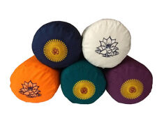 Deluxe  Buckwheat Yoga Bolster Inner Case and Outer Cover